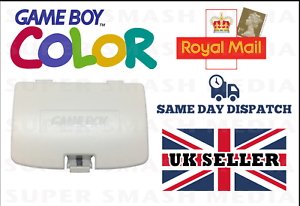 New-Game-Boy-Color-GBC-White-Replacement-Battery-Cover-Gameboy-Colour