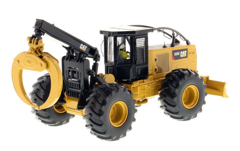 Caterpillar 85932 Diecast 1 50 CAT 555D Wheel Skidder Engineering Vehicles Alloy