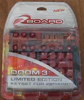 Steelseries Doom 3, Limited Ed Gaming Keyset For Zboard -
