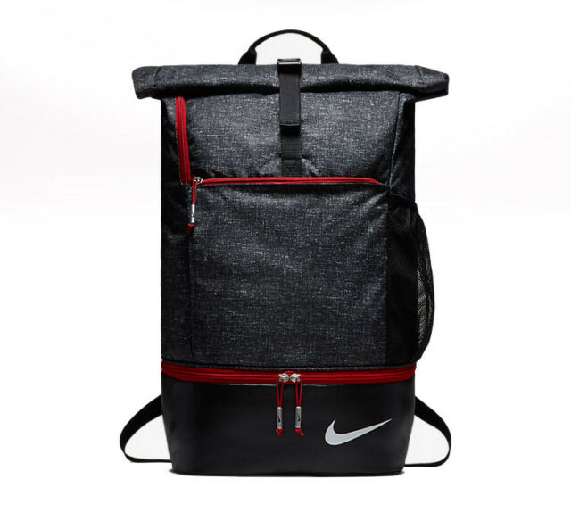 Nike Golf 2018 New Backpack Bag Black Sports Soccer Gym Hiking Ga0262