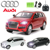 Official Licensed 1:14 Audi Q7 Rc Radio Remote Control Rechargeable Car Ep Rtr