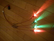 RC Car Truck LED Light Kit Ultra Bright LARGE 10mm LED HPI Traxxas RED & GREEN