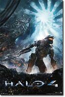 Xbox Halo 4 Key Art Video Game Poster 22x34 Free Shipping