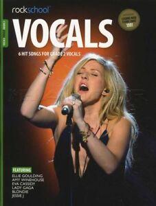Rockschool Vocals Chanteuses Grade 2 Music Book With Audio Code De Téléchargement-afficher Le Titre D'origine Doux Et LéGer