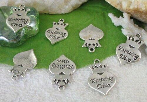 40pcs Tibetan Silver Bear Shape Charms FC1785