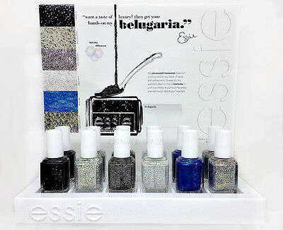 ESSIE - Encrusted Treasures Belugaria Collection 2013 -- All 6 Shades 3019-3024