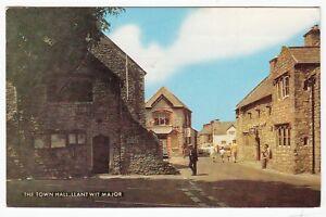 Postcard-THE-TOWN-HALL-LLANTWIT-MAJOR-Ref-C21
