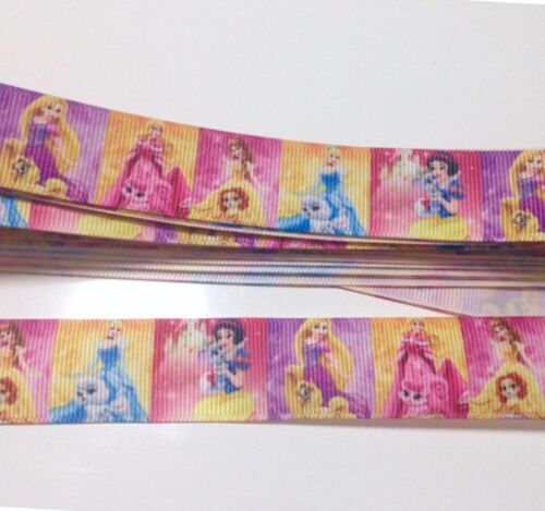 #72 YARD DISNEY PRINCESS PETS CINDERELLA BELLE  GROSGRAIN RIBBON CHARACTER