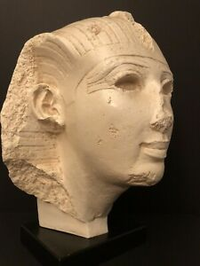 Rare-And-Large-16-Austin-Production-1960-Egyptian-Head-Sculpture