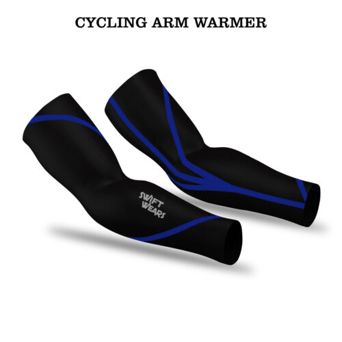 Cycling arm warmers Unisexe Adultes Thermique Manches Running Vélo Sports de plein air