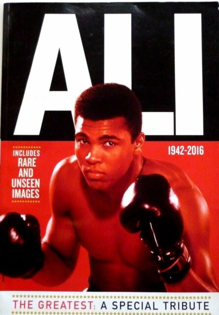 ALI THE GREATEST: A SPECIAL TRIBUTE MAGAZINE / BOOK BY MIRROR COLLECTIONS ~ NEW