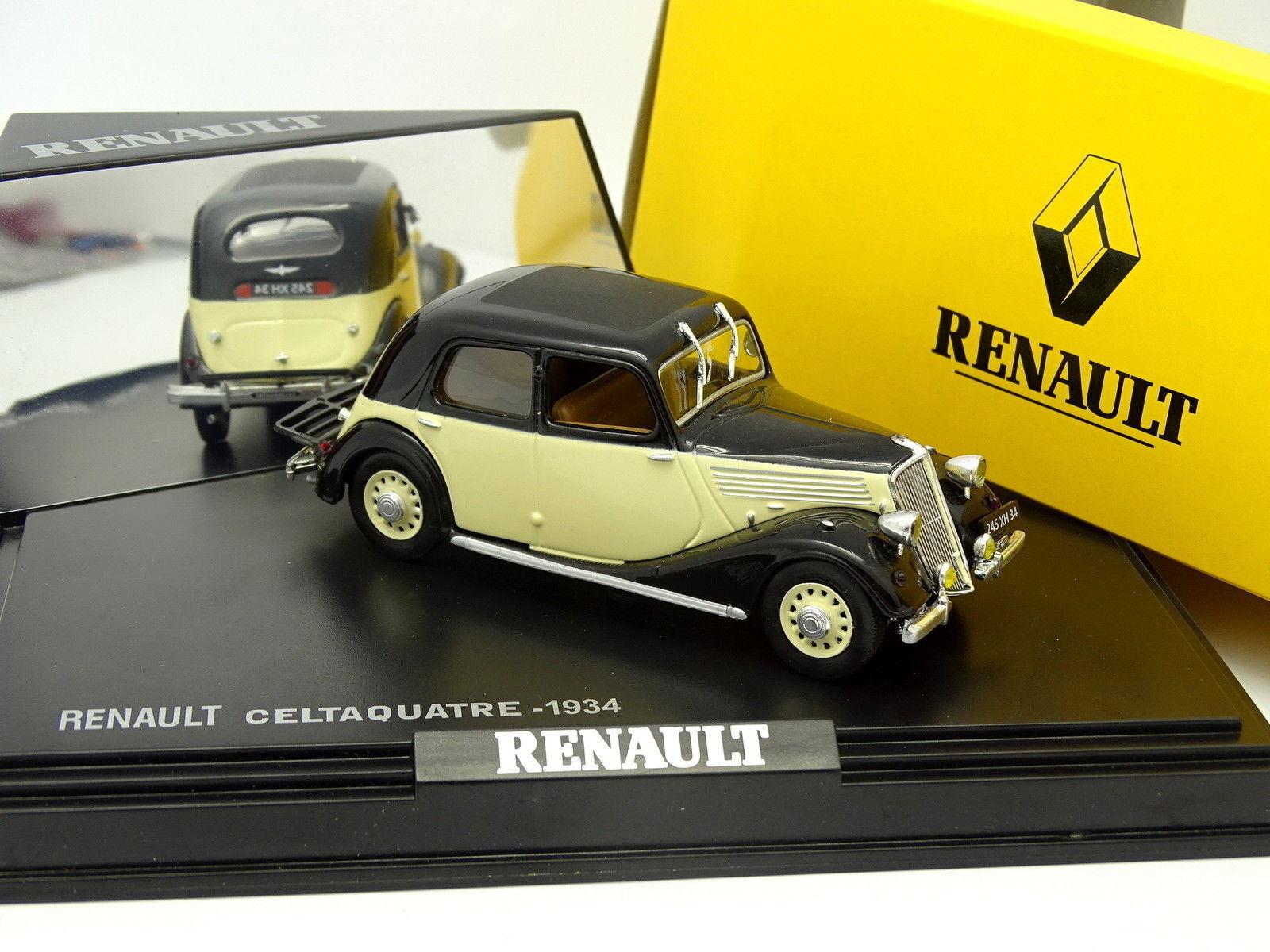 venta con descuento Norev 1 43 43 43 - Renault Celtaquatre 1934 blancoo y Negro  nueva marca