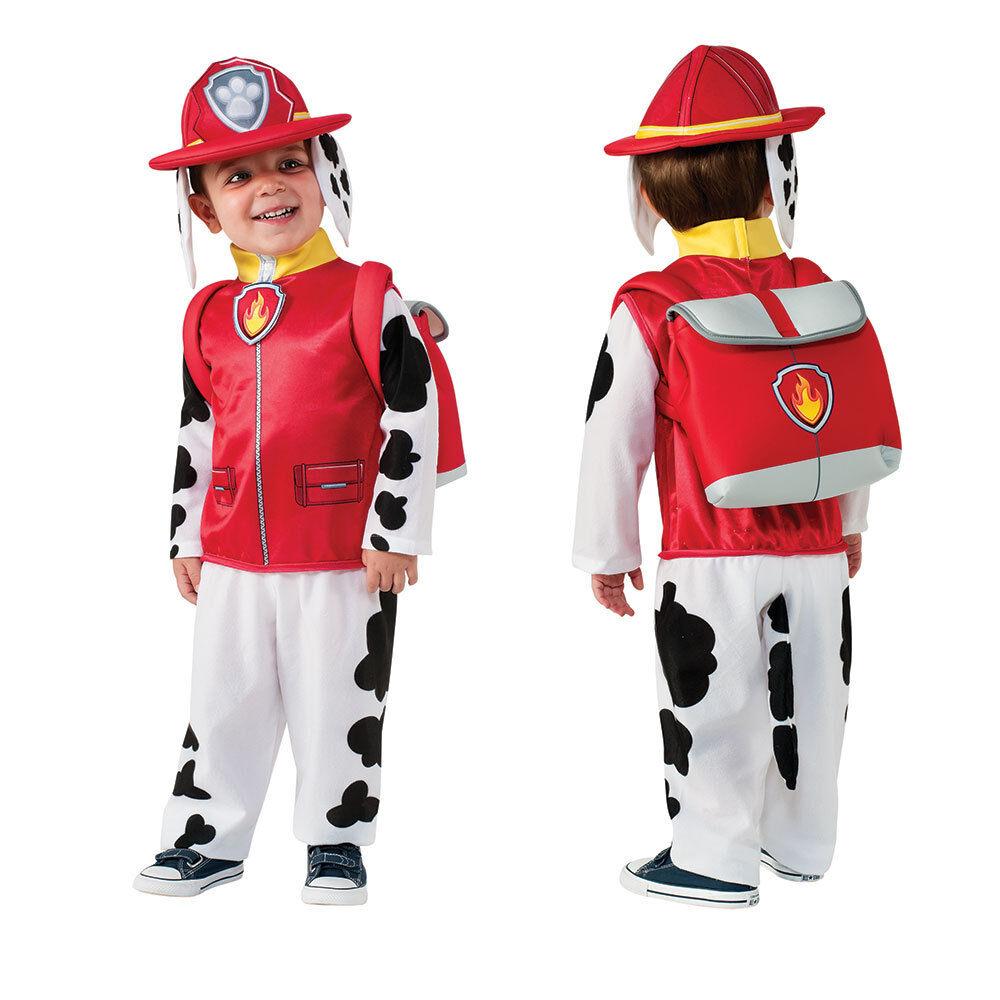 Paw Patrol Marshall Halloween Costume For Toddler