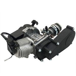 50cc 49cc Engine Motor Transmission Mini Pocket ATV Quad Scooter gas 2 Stroke