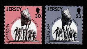100538-Jersey-1995-Mi-693-4-EUROPA-CEPT-postfrisch