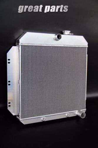3 ROWS FIT 1960 1961 1962 Chevy C10 C20 C30 PICKUP V8 ALL ALUMINUM RADIATOR