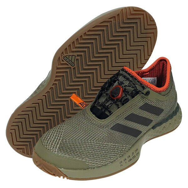 34efe153e5 adidas Adizero Ubersonic 3 CITIFIED Men's Tennis Shoes Khaki Racket NWT  CG7073