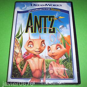 ANTZ-DREAMWORKS-DVD-NUEVO-Y-PRECINTADO