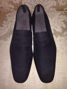 massimo emporio mens palma 15295 dress shoes suede black