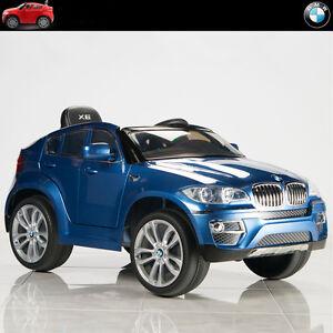 Bmw X6 12v Kids Ride On Car Battery Power Wheels Toy