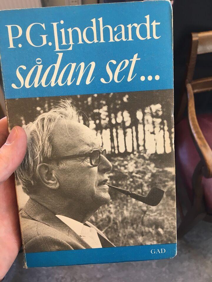 Sådan set, P. G. Lindhardt