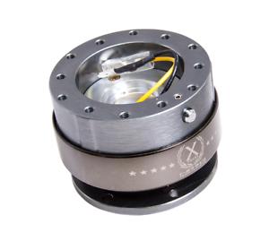 NRG Steering Wheel Quick Release Generation 2.0 Titanium Chrome Ring SRK-200GM