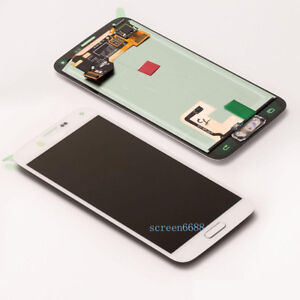 Pour Samsung Galaxy S5 G900F S5 Plus+ G901F écran Tactile LCD Affichage Blanc