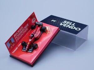 "Minichamps 510966491# FERRARI 1996#17 f1 Michael Schumacher"" 1:64 formula 1"