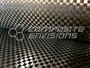"Carbon Fiber Fabric Plain Weave 40"" Spread Tow 63gsm 1.86oz"