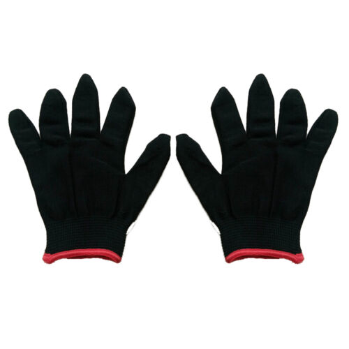 12 Pairs PU Nylon Safety Coating Work Gloves Builders Palm Protect S M L.O ue
