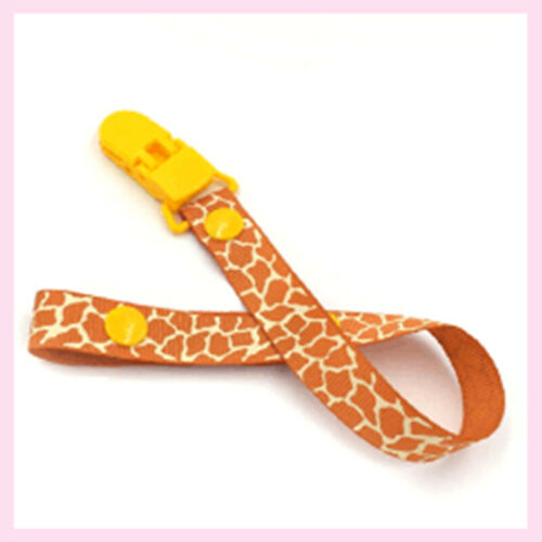 Children Boys Girl Baby Pacifier Holder Dummy Soother Leash Strap Clip Chain New