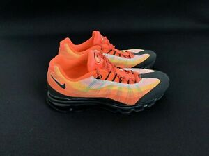 release date: 33940 de158 Image is loading Nike-Air-Max-95-Dynamic-Flywire-Black-Orange-