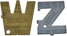 Medición De Palanca herramienta de creación de Zama Y Walbro carburador Carb Carburador