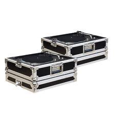 2 x Plattenspieler Case  für alle gängigen Turntable Modelle (s. Auflistung)