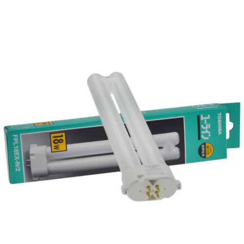 TOSHIBA FPL18EX-N//2 5000K Detection Lamp Tube Fluorescent Eye Protection Lamp