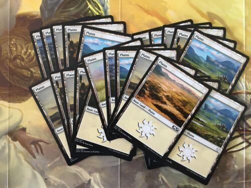Magic the Gathering MTG  X25 Plains Land Cards New