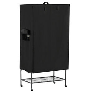 Universal-Large-Good-Night-Bird-Parrot-Cage-Cover-Breathable-amp-Washable-Black