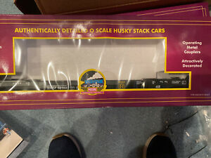 MTH-20-95008-BNSF-Husky-Stack-NO-Containers