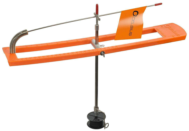 Celsius Trophy Tamer Tip-Up w  Line & 200 ft  Metal Spool  (SET OF TWO)   SBTU-50  shop now