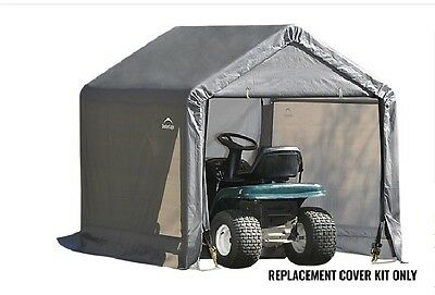 Shelterlogic Replacement Cover 90500 fits 6x6x6 Shed-In-Box sku 70401
