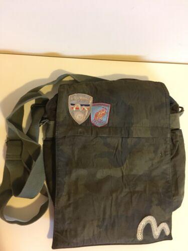 Evisu Messenger Bag
