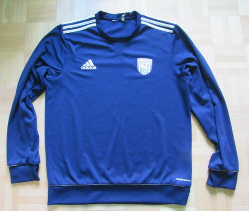 West Bromwich Albion Training Jacket Sweat Top ADIDAS 2014 WBA Brom adult SIZE M