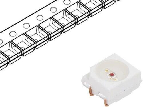 8x HSMC-A401-U80M1 LED SMD 3528,PLCC4 red 560-1400mcd 3.5x2.8x1.9mm 120° AVAGO