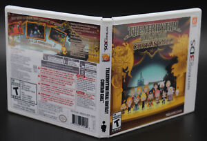 Final Fantasy Curtain Call Nintendo 3DS Replacement Game Case Cover Art NO GAME