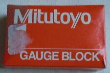 Mitutoyo Steel Square Gage Block 0.121 Length ASME Grade 00