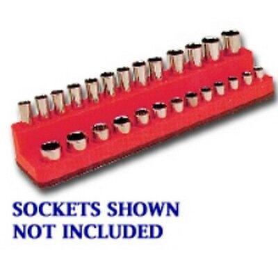 Drive Deep Rocket Red Socket Holder  4-14mm Mechanics Time Saver 727 1//4in