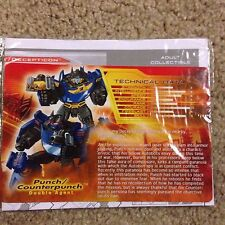 Transformers TFCC Club Punch Counterpunch Botcon Card Instructions Only
