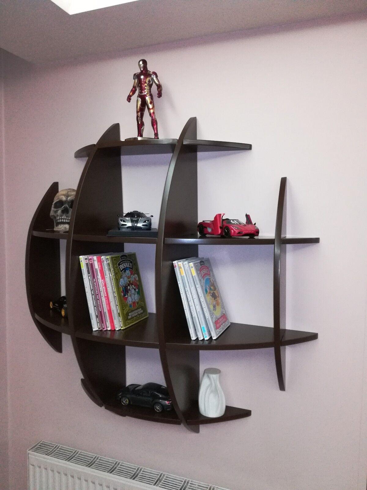 Semi Cercle Bibliothèque pour circulaire Bookshelf