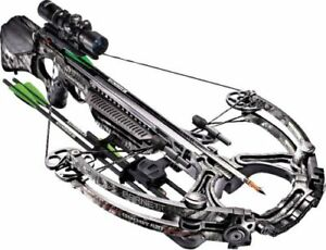 NEW 2018 Camo Barnett Ghost 420 1.5-5X Scope Crossbow Pkg 420 FPS 78501