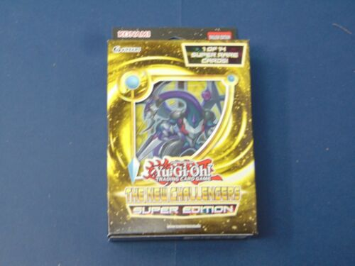Yu-Gi-Oh The New Challengers Super Edition New Sealed Shonen Jump Konami EZ10
